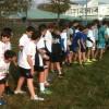 Gli studenti della Scuola Media Leonardo da Vinci ai campionati studenteschi di Corsa campestre