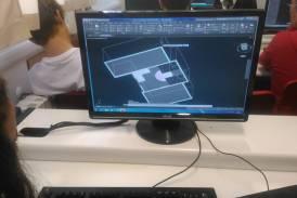 """Galleria """"Dal rilievo al progetto"""": attività complementare con l'utilizzo del programma AutoCAD per i nostri studenti di terza"""
