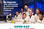 Prossimi Open Day: domenica 17 novembre (ore 10:00) e sabato 14 dicembre (ore 15:00)