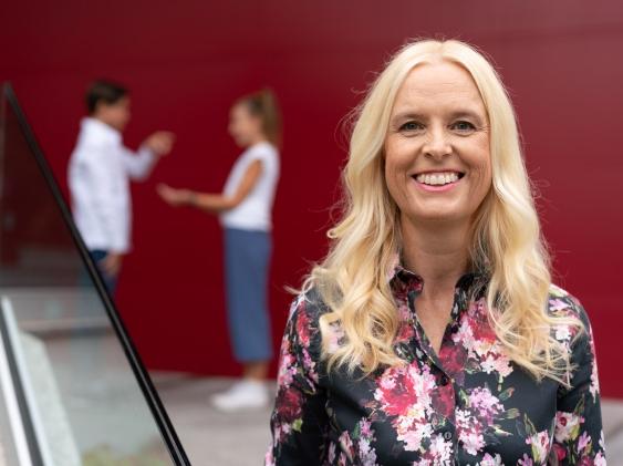 """Eva Haberg: """"Ho imparato a guardare al futuro con gli occhi dei miei studenti"""""""