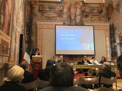 """Convegno """"Libera Scuola in Libero Stato"""": libertà di scelta educativa e finanziamento scolastico, un evento unico a Palazzo Giustiniani"""
