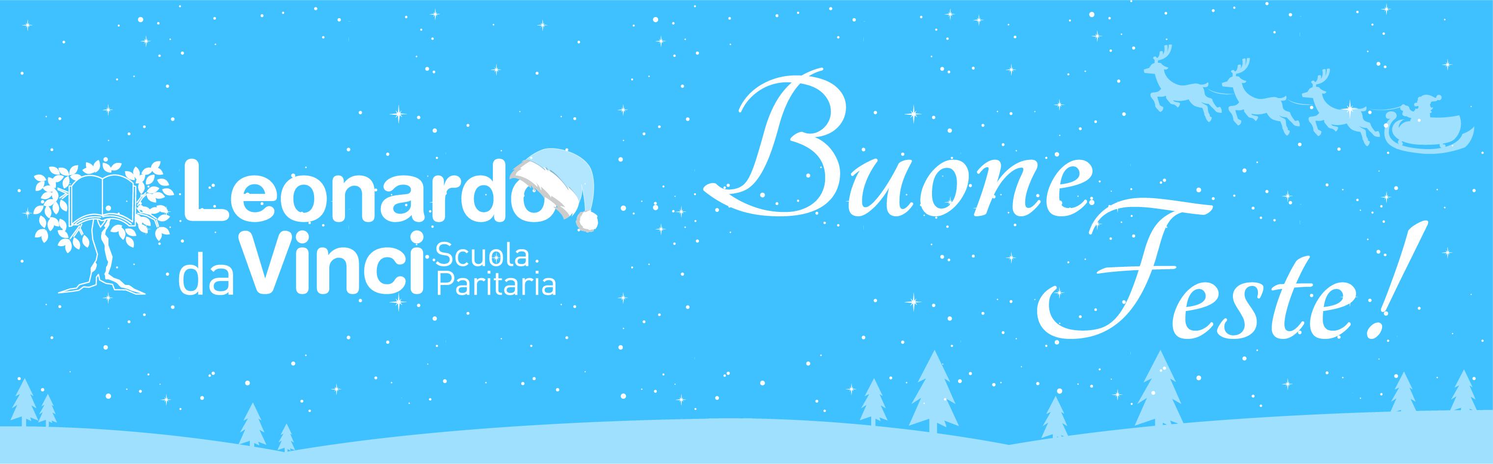Vi auguriamo buon Natale e felice anno nuovo!